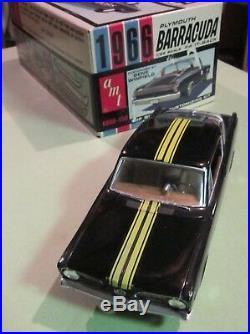 AMT 1966 Plymouth Barracuda Kit # 6856 Nice Built & Box Formula S 66