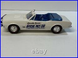 AMT 1967 Chevrolet Camaro Indianapolis 500 Pace Car Dealer Promo Car NMINT