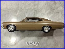 AMT 1967 Chevrolet Impala SS Hardtop Promo 427-Granada Gold Met, Near Mint