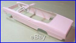 AMT 1967 Ford Galaxie 500XL Convertible Kit #6117 NOS Body & Boot Parts Lot 67