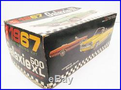 AMT 1967 Ford Galaxie Conv. Unbuilt Kit #6117. 1/25th Scale Good condition