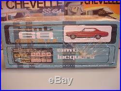 AMT 1968 CHEVROLET CHEVELLE SS396 CHEVAM #5628-200 MPC 1/25 ANNUAL MODEL KIT