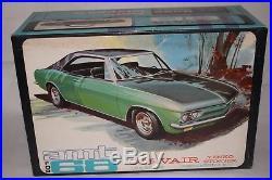 AMT 1968 Chevrolet Corvair Yenko Model Kit, Unbuilt Original Issue