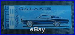 AMT 1968 Ford Galaxie 500 XL -Dealer Promo Model Friction Car- Rare With Box