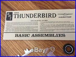 AMT 1968 Ford Thunderbird H. T. Factory Original Issue Model Kit