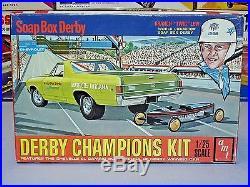 Amt 1969 Chevrolet Ss El Camino Soap Box Derby T312-200 Mpc 69 Sealed Inside Kit