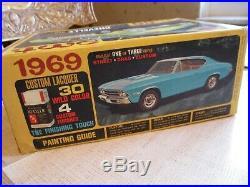 AMT 1969 Chevelle SS-396 Unbuilt Model Car Kit # Y910 Original Issue