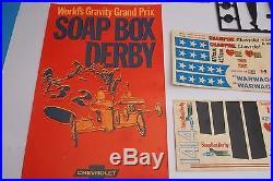 AMT 1969 El Camino and Soap Box Derby Champions Kit, Unbuilt Rare Kit