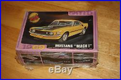 AMT 1969 Ford Mustang Mach 1 Model Kit # Y905-200 NOS FACTORY SEALED
