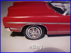 AMT 1969 Ford XL Convertible GT PRO BUILT CUSTOM One of a Kind Model Car 1/25