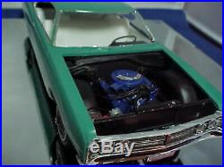 AMT 1970 Ford 2 DOOR Sport roof PRO BUILT Scaled 1/25 ONE of a KIND