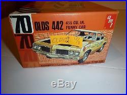 AMT 1970 Olds OLDSMOBILE 442 Funny Car MODEL CAR MOUNTAIN Y738 VINTAGE