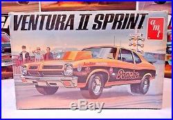 Amt 1972 Pontiac Ventura II Sprint #t379-225 1/25 Mpc Vintage Factory Sealed Kit