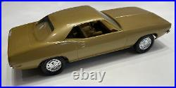 AMT 1972 Plymouth Barracuda Promo 125 Scale Dealer Plastic Model