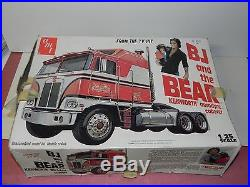 AMT 1980 BJ and the Bear Model kit 1/25 scale Kenworth Aerodyne Cabover Truck