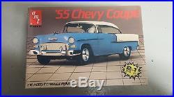 AMT 1/16'55 Chevy Coupe Vintage Model Car Kit RARE KIT NIB