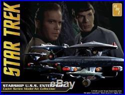 AMT 1/2500 Star Trek Starship U. S. S. Enterprise Box Set # 954