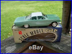 AMT 1/25TH Scale Plastic Friction Type 1961 Buick Invicta Coupe -WITH BOX
