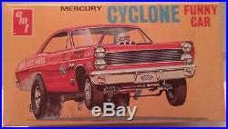AMT 1/25 1960s Mercury Cyclone Funny Car Very Rare Original Kit #T155-170 Great