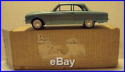 AMT 1/25 1961 Ford Falcon 2 Door Sedan Turquoise Blue Promo With Box