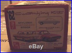 AMT 1/25 1962 Ford Falcon Window Box Rare From 1962 Original Kit #189 Great