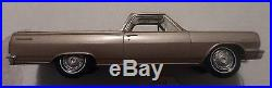 AMT 1/25 1964 Chevrolet Chevelle El Camino 2 Door Truck Brown Promo Very Nice