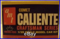 AMT 1/25 1964 Mercury Comet Caliente Craftsman Series Original Kit #4038-100