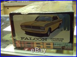 AMT 1/25 1968 Ford Falcon Factory Sealed Rare From 1968 Original Kit 5128-200