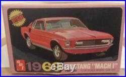 AMT 1/25 1969 Ford Mustang Mach1 Original From 1969 Kit #Y905 200 Sealed Inside