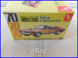 AMT 1/25 1970 Ford Mustang Mach I Blue Crescent