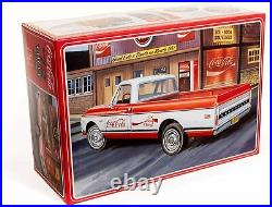 AMT 1/25 1972 Chevy Pickup Fleet Side Coca-Cola Bending Machine & Case Plastic M