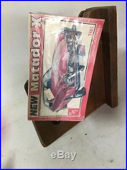 AMT 1/25'76 AMC Matador X Coupe Vintage Model Car Kit RARE FACTORY SEALED