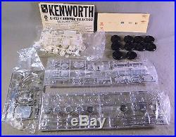 AMT 1/25 Coors Kenworth K-123 C. O. E. RareVintage Plastic Model Kit As Is