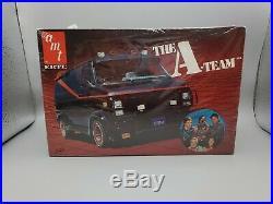 AMT 1/25 ERTL The A-Team Van F/S MODEL KIT #6616 1983 Issue