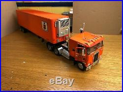 AMT 1/25 Kenworth COE T520 Built With Trailer Hauling AMT Models
