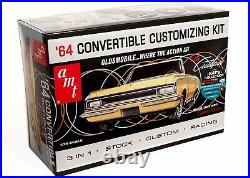 AMT 1/25 Olds Mobile Cutlass 1964 F-85 Convertible Plastic Model AMT1200