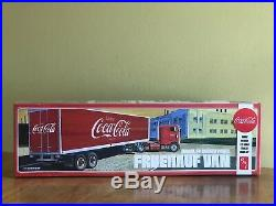 AMT 1/25 Peterbilt 352 Pacemaker and AMT 1/25 Coca Cola Beaded Panel Van Sealed