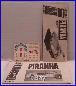 AMT 1/25 Piranha Drag Team'Street'N' Strip' Original Kit #916-300 Very Rare OOP