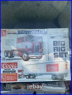 AMT 1/25 Scale Coors KW Big Rig Set # 8775 Model Kit