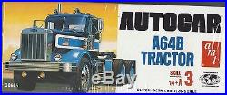AMT 38665 Autocar A64B tractor kit. 1/25th scale