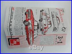 AMT 3-In-1 1961 Falcon Compact Car Customizing Kit 1/25 Model K-1061 New Vtg MCM
