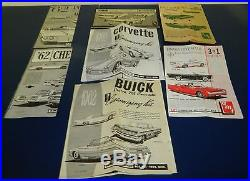 AMT 3 in 1 1960's BIG ESTATE GROUP Model Parts Lot Wheels