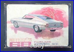 AMT 5168 F20 1968 Ford Torino GT Annual VINTAGE 1/25 MODEL CAR MOUNTAIN