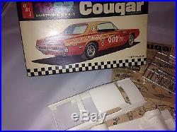 AMT 5327-170 1967 Mercury Cougar Hardtop Model Unassembled / Complete Rare