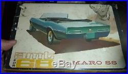 AMT 6618 1968 CAMARO CONVERTIBLE BUILT ANNUAL Model Car Mountain