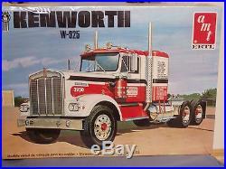 AMT #6640 Kenworth W925 Watkins Motor Lines. Sealed kit. 1/25th scale
