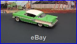 AMT 6PKHT 1958 Pontiac Bonneville Hardtop 125 Built Screwbottom Annual Kit
