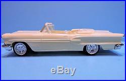 AMT #6PK 1958 Pontiac'58 Bonneville convertible Very clean original build LOOK