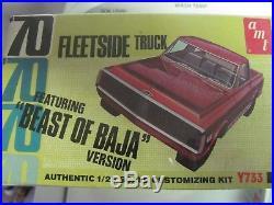 AMT 70 Chevrolet Fleetside' Beast of Baja' Version Factory Sealed