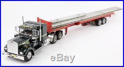 AMT 70s MOVIN' ON Kenworth W-925 1/25 Scale 6643 Truck & Trailer Model Kit Built